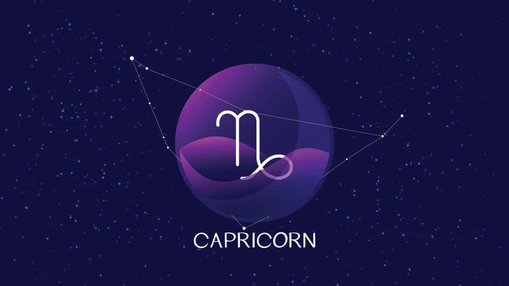 capricorn man signs